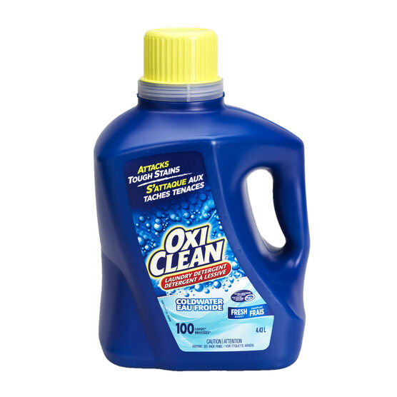 OxiClean Coldwater Liquid Laundry Detergent - Fresh Scent - 4.43L/100 loads