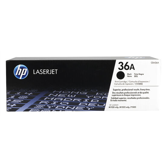 HP LaserJet Black Print Cartridge - CB436A