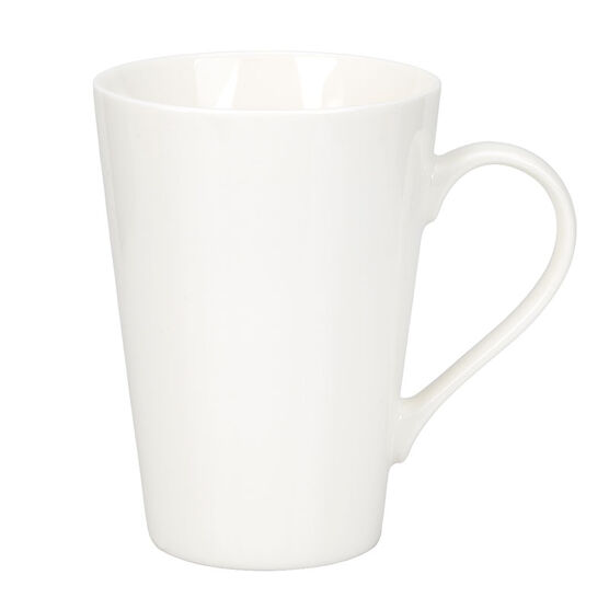 London Drugs Tall Porcelain Mug - White - 16oz