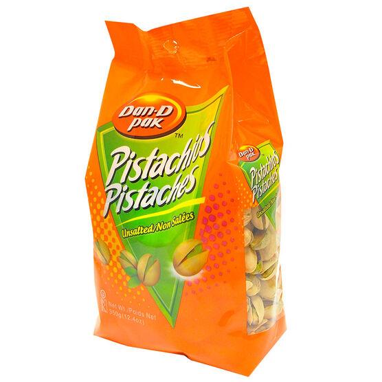 Dan-D-Pak Pistachios - No Salt - 350g