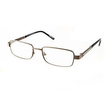Foster Grant Jagger Reading Glasses - Gunmetal - 3.25