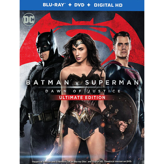 Batman v Superman: Dawn of Justice - Blu-ray