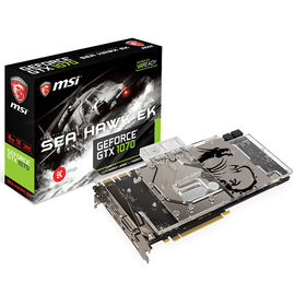 MSI GeForce GTX 1070 SEA HAWK EK  X Gaming Video Card - 8GB