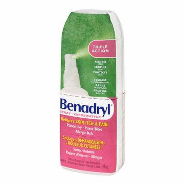 Benadryl Itch Relief Spray - 59ml
