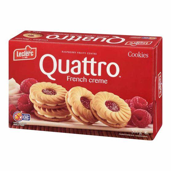 Leclerc Quattro Cookies - French Cream - 300g
