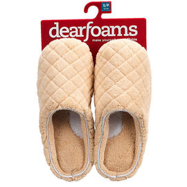 Dearfoam Clog Slipper - Camel - Assorted