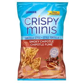 Quaker Crispy Minis - Tortilla - Smoky Chipotle - 100g