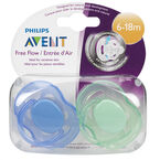Advent BPA-Free Pacifier - Toddler - 6-18m  -  SCF178/24