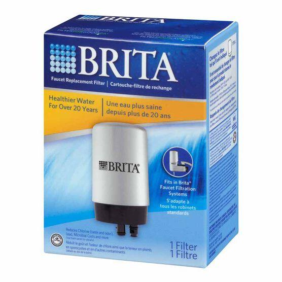 Brita Faucet Replacement Filter - Chrome