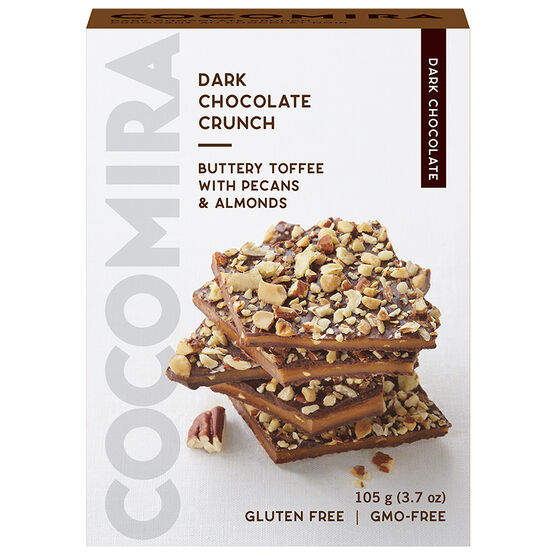 CocoMira Dark Chocolate Crunch - Gluten Free - 105g