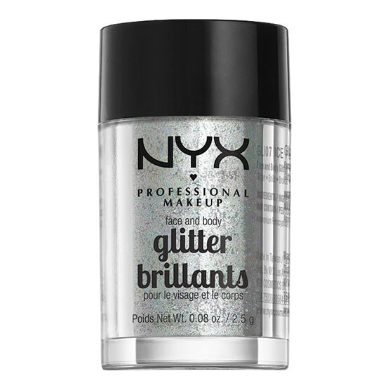 NYX Professional Makeup Face and Body Glitter - Ice