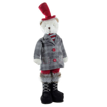 Winter Wishes Standing Bear - 26 inch