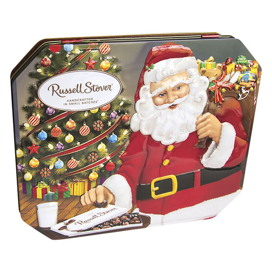Russell Stover Santa Tin - Assorted - 284g