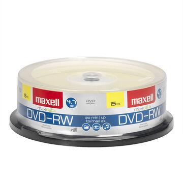 Maxell DVD-RW - 4.7GB - 15 pack
