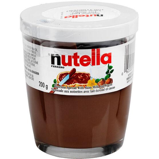 Nutella Hazelnut Chocolate Spread - 200g