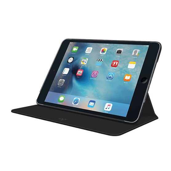 Logitech Focus Protective Case with AnyAngle Stand for iPad mini - Black