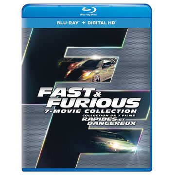 Fast and Furious: 7 Film Collection - Blu-ray