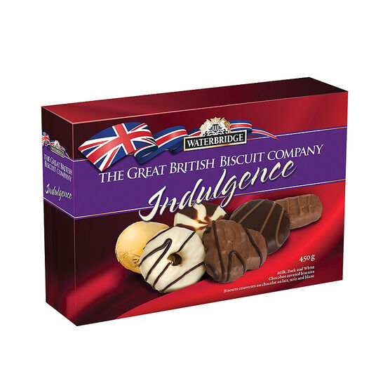 Waterbridge The Great British Biscuits Indulgence - Assorted - 450g