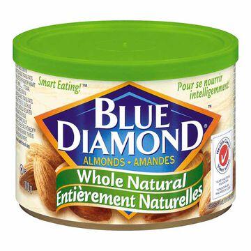Blue Diamond Almonds - Whole Natural  - 170g
