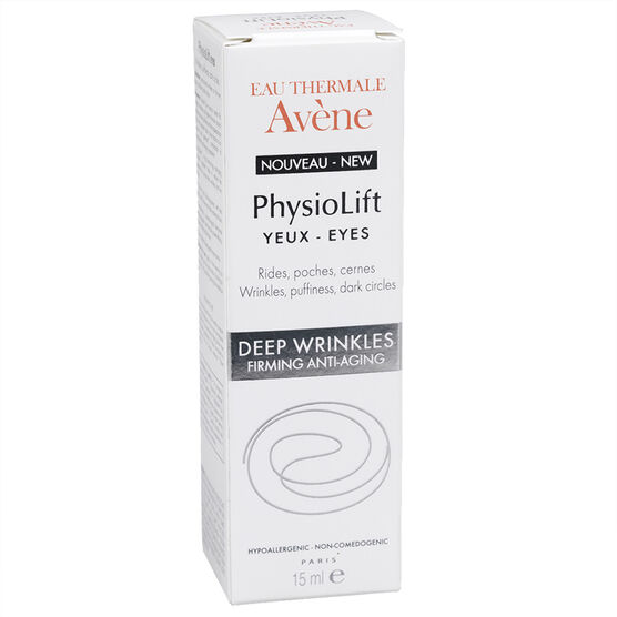 Avene Physiolift Eyes Wrinkles, Puffiness, Dark Circles - 15ml