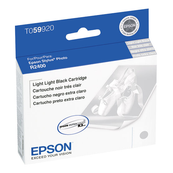 Epson R2400 Stylus Photo Ink Cartridge - Light Light Black - T059920