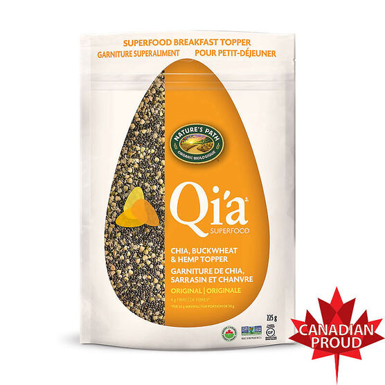 Nature's Path Qi'a Superfood Chia Buckwheat & Hemp Cereal - Original - 225g