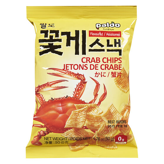 Paldo Crab Chips - 50g