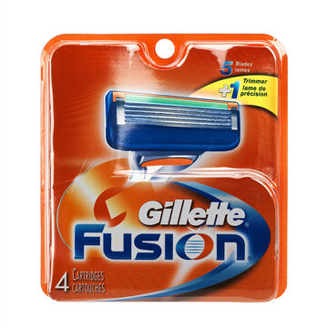Gillette Fusion Blades - 4's