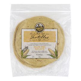 La Tortilla Factory Tortillas - Yellow Corn - 8's