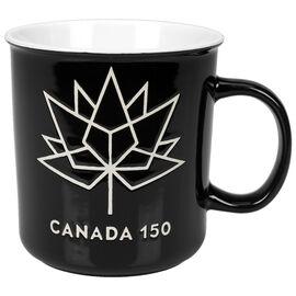 London Drugs Canada 150 Stoneware Mug - Black/White - 23oz