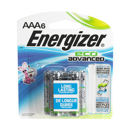 Energizer Eco Advantage Battery - AAA/6 pack