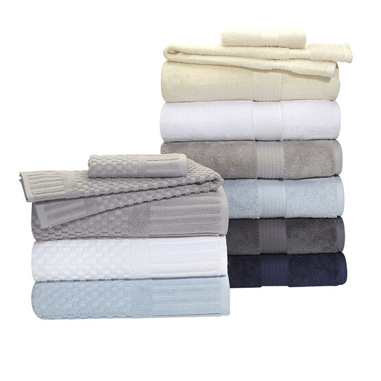 Royal Living Bath Towel - Optic White