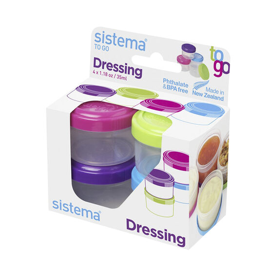 Sistema Dressing To Go - 1.18oz/4's