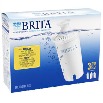 Brita Pitcher Replacement Filters - 3 pack