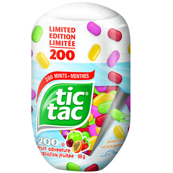 Tic Tac Candy - Fruit Adventure - 98g
