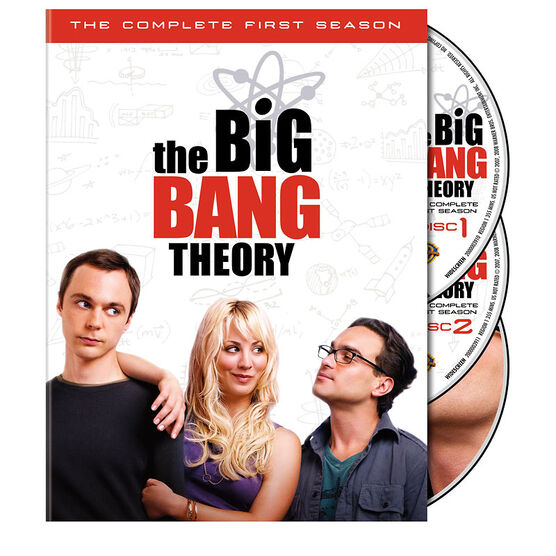 Big Bang Theory: The Complete First Season - DVD