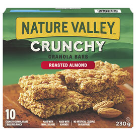 Nature Valley Crunchy Granola Bars - Roasted Almond - 230g / 5 pack
