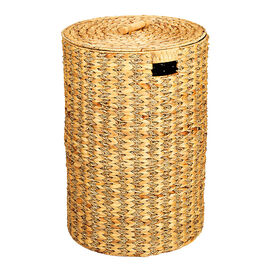 London Drugs Water Hyacinth Seagrass Round Hamper with Lid