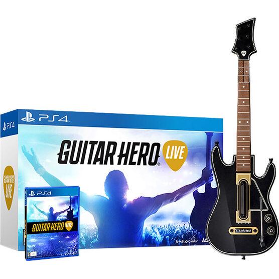 PS4: Guitar Hero Live Bundle
