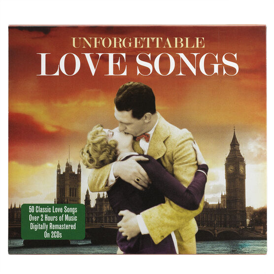 Various Artists - Unforgettable Love Songs - CD