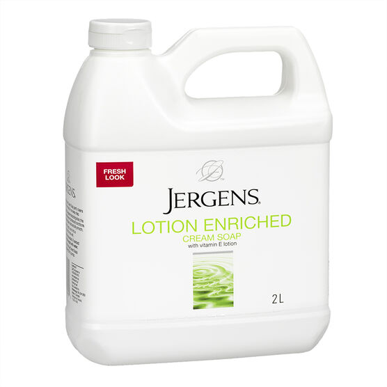 Jergens Lotion Enriched Cream Soap Refill - 2L