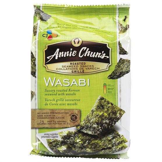 Annie Chun`s Wasabi Seaweed Snacks - 10g