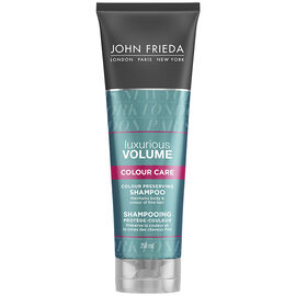 John Frieda Luxurious Volume Touchably Full for Colour-Treated Hair Shampoo - 250ml