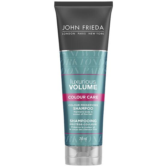 John Frieda Luxurious Volume Touchably Full for Colour-Treated Hair Shampoo - 250ml