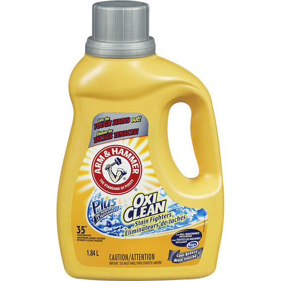 Arm & Hammer 2X OxiClean HE Laundry Detergent - Cool Breeze - 1.84L