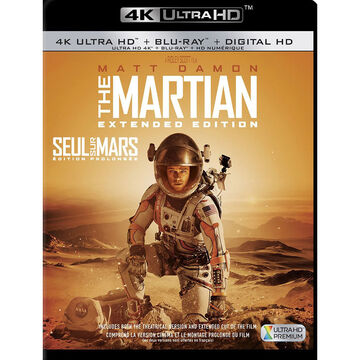 The Martian: Extended Edition - 4K UHD Blu-ray