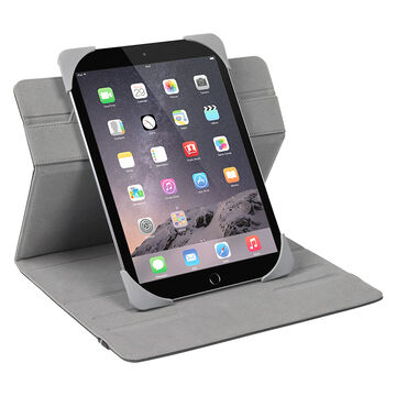 "Targus Fit 'n Grip Rotating Tablet Case - 9.7"" to 10.1"" - Black - THZ592CA"