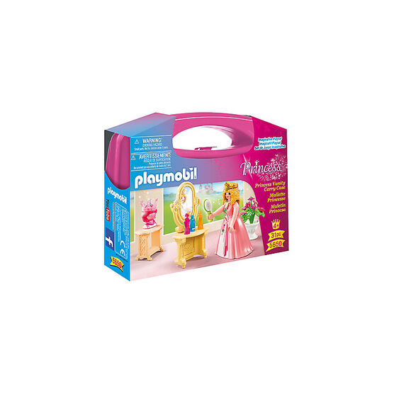 Playmobil Princess - Princess Vanity Carry Case - Small