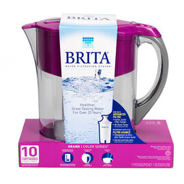 Brita Grand Pitcher - Violet- 10 cup