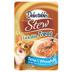 Delectables Stew Lickable Treat - Tuna and Whitefish - 40g